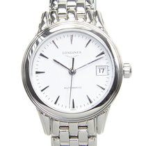 Longines Flagship Stainless Steel White Automatic L4.274.4.12.6