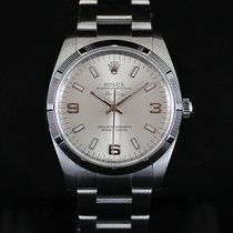 Rolex Air King Silver Dial 34MM