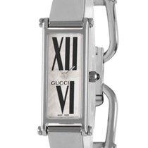Gucci 1500 L Stainless Steel Womens Fashion Bangle Watch YA015544