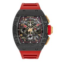 Richard Mille Lotus F1 Team NTPT Carbon/18K Rose Gold Chronogr...