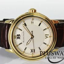 Blancpain Leman Ultra Slim yellow Gold 18k 38MM  NEW  G