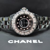 Chanel J12 Diamond Bezel and Dial