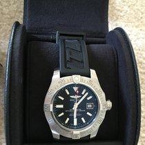 Breitling Avenger II Seawolf Black Dial A17331 44mm Black Dial...