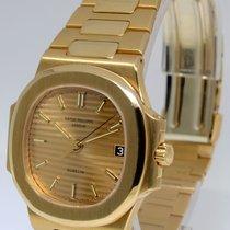 Patek Philippe Gubelin Rare Nautilus 18k Gold Auto Mens Watch...