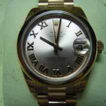 Rolex Datejust, Ref. 178245 - rosa römisch ZB/ Präsidentband