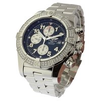 Breitling Super Avenger Chronograph 2 Row Diamond Bezel