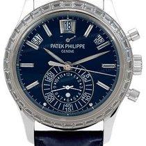 Patek Philippe Complications 5961P 40.5mm Blue Index Platinum...