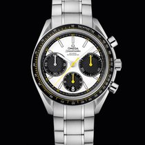 Omega Speedmaster Racing Co-Axial Chronograph White Dial 40mm T