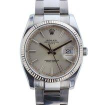 Rolex Mens Date 34mm Unisex Circa 2007 Ref. 115234
