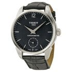 Tissot Chronometer Precisionist Black Dial Black Leather...