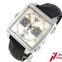 TAG Heuer Monaco Calibre 11 Chronograph Automatik - Stahl/LB