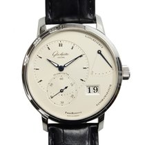 Glashütte Original New  Pano Reserve Stainless Steel Silver...