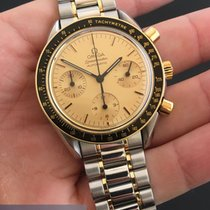 Omega Speedmaster Reduced Automatic gold and steel