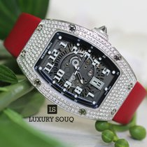 Richard Mille RM 007 Ladies White Gold Customized Diamond