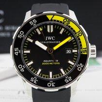 IWC IW356810 Aquatimer 2000 Black Dial SS / Rubber (24785)