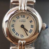 Cartier Trinity Argent Silver Quartz Roman Dial 24mm