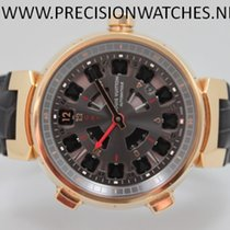 Louis Vuitton Tambour Spin Time GMT Rosegold