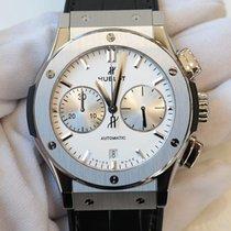 Hublot Classic Fusion white dial 45 in titanium with black...