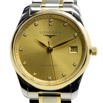 Longines Master 18k Gold Steel Gold Automatic L2.518.5.37.7