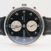 IWC Portuguese Chronograph Black Dial Ref. IW371404