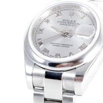 "Rolex Ladies ""New Style"" Datejust - Silver Roman Dial..."