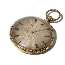 Pierre Morel Gold Plated Pocket Watch