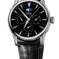 Oris Artelier Complication 2014 Black Leather