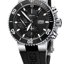 Oris AQUIS CHRONOGRAPH - 100 % NEW - FREE SHIPPING