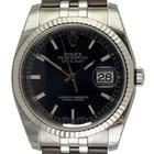 Rolex Datejust : 116234 blue dial on Jubilee bracelet