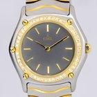 Ebel Classic Wave Lady Stahl 18K Gold Diamond Luxus Klassiker
