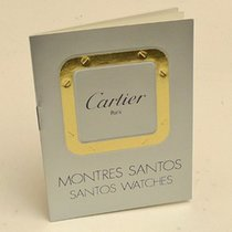 Cartier Santos Watches Instruction Manual Booklet
