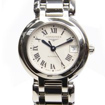 Longines Prima Luna Stainless Steel White Automatic L8.111.4.71.6