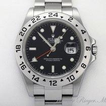 Rolex EXPLORER II 16570 T STAHL AUTOMATIK Zweite Zeitzone