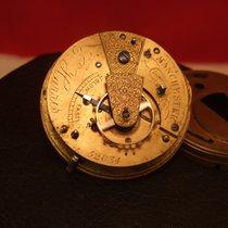 Pocket watch movement E. Harris Manchester Mechanical  Key...