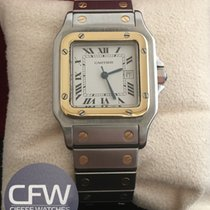 Cartier Santos Steel and Gold