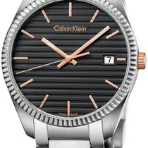 ck Calvin Klein Alliance Gent K5R31B41 Herrenarmbanduhr...