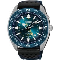 Seiko Herrenuhr Prospex Land Kinetic GMT SUN059P1