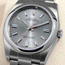 Rolex Steel 36mm 116000 Slate Silver Dial - Unworn Box &...
