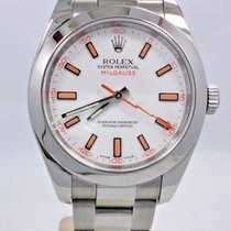 Rolex Milgauss 116400 Oyster Perpetual Steel Watch V Serial...