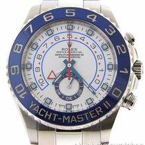 Rolex Yacht-Master II Stainless Steel 116680 Blue Ceramic...