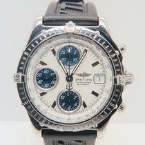 Breitling Chronomat White Blue Dial Chronograph
