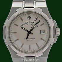 Vacheron Constantin Overseas 72040 Stainless Steel 37mm White...