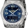 Breitling Aerospace Analog Digital Mens Watch E7936210-...