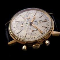 Omega Rare De Ville 18k Gold Chronograph 60's