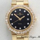 Baume & Mercier Mercier Lady Riviera Gelbgold 750 Diamante...