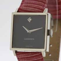 Longines solid 18K White Gold Ref. 4043 Cal. 528 in very good...