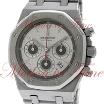 Audemars Piguet Royal Oak Chronograph, Silver Dial - Stainless...