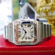 Cartier Santos Steel Automatic Ref: 2319 Roman Numeral Watch
