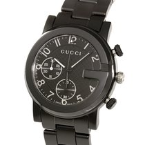 Gucci G Chrono Quartz Black Ceramic 38MM
