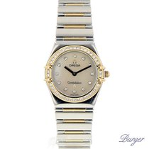 Omega Constellation My Choice Steel Yellow Gold Diamond MOP Dial